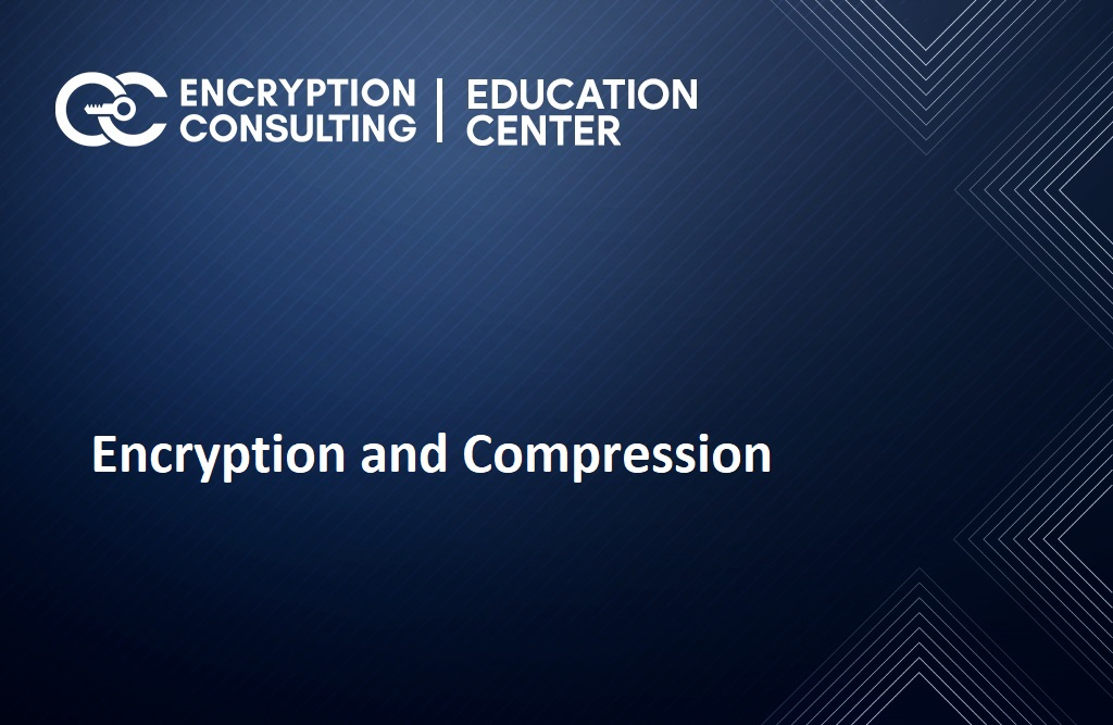 Encryption and Compression