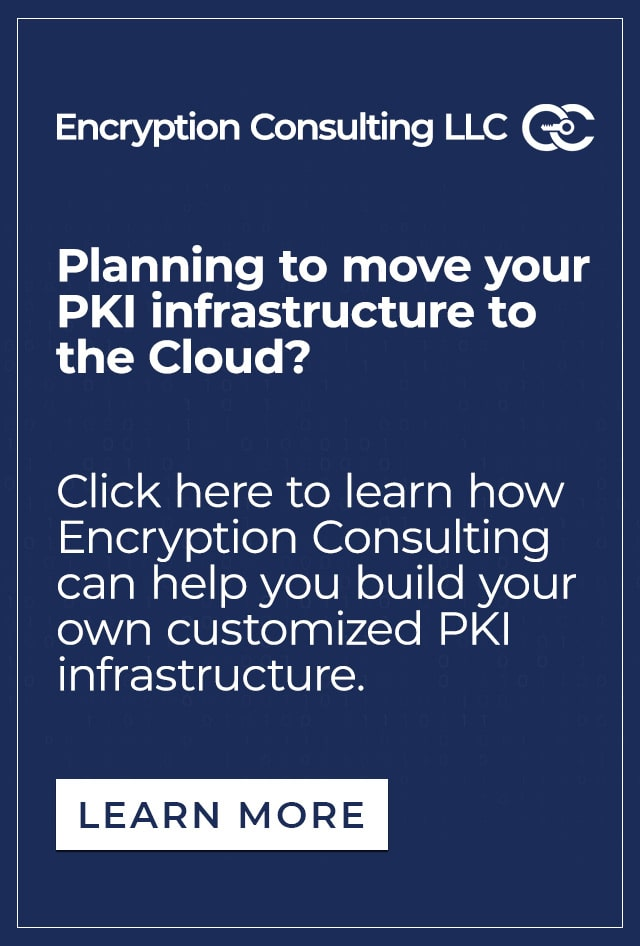 build your own customized PKI infrastructure.