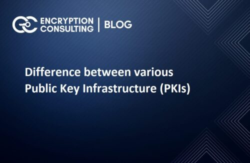 Difference between various Public Key Infrastructure (PKIs)