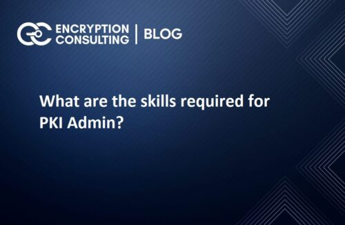 What are the skills required for PKI Admin?